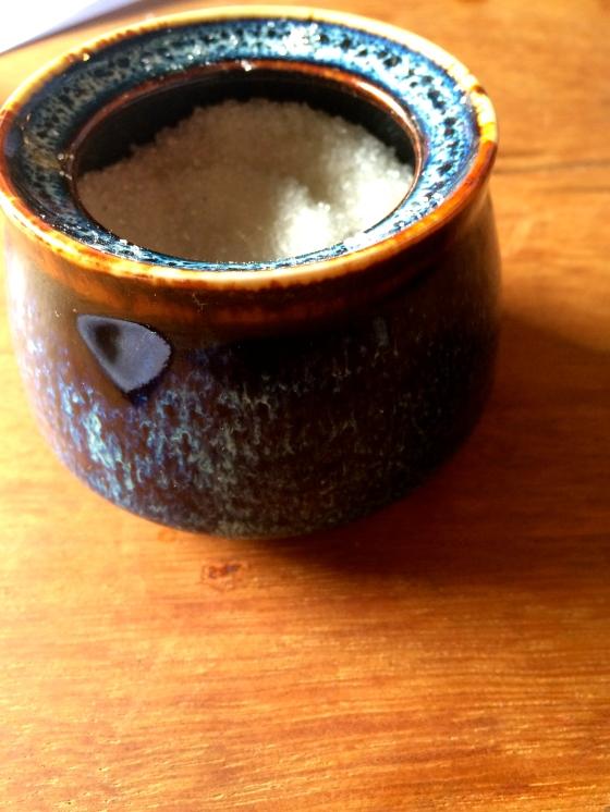 the kewtest lil sugar jar i've ever seen