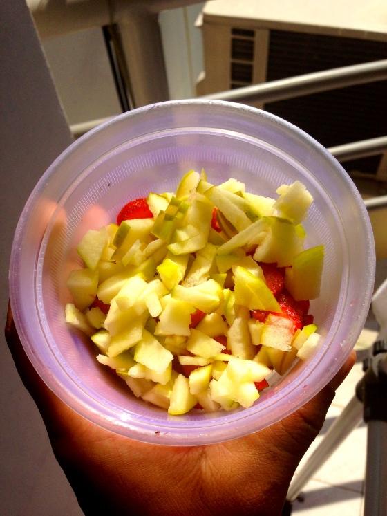 sometimes I add chopped apple!